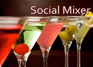 Social mixers events